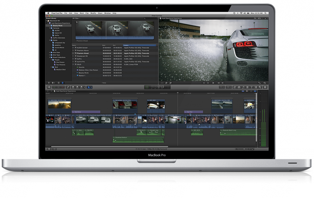 Apples Final Cut Pro X
