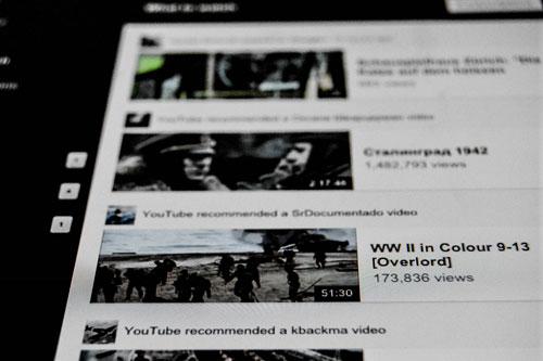 Videos im Netz - immer öfter auch auf Tablets und Smartphones.