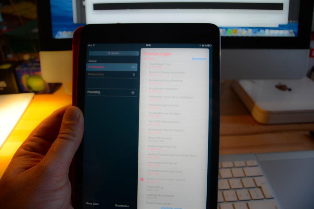 Tablets verdrängen mehr und mehr den PC. 2015 sollen erstmals mehr Tablets als PCs verkauft werden. (Foto: Jakubetz)