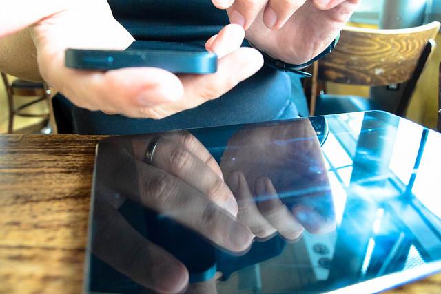 Das Gerät der Zukunft: Schon heute werden mehr Tablets als andere Computer verkauft. (Foto: Jakubetz)