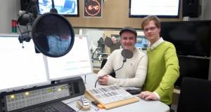 Jetzt im Radio: Daniel Fiene und Herr Pähler.