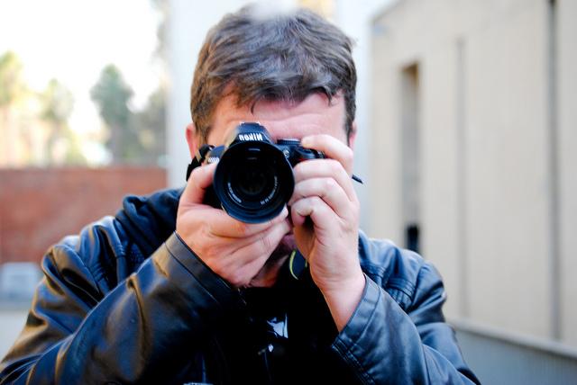 Die Story bin ich: Selfie-Journalismus. (Foto: Jakubetz)